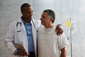médico e paciente